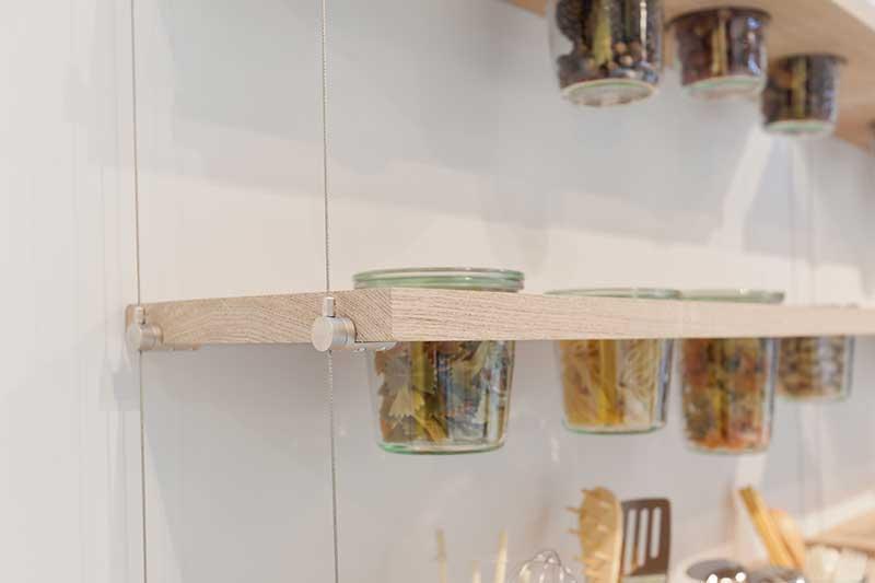 Shelf hanging